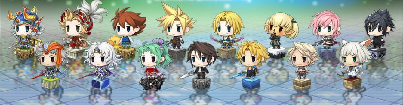 Annunciato Pictlogica Final Fantasy ≒ per 3DS