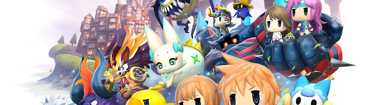 World of Final Fantasy: Meli-Melo annunciato per iOS e Android