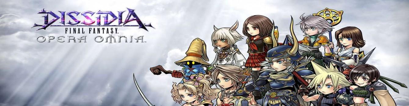 Dissidia Final Fantasy Opera Omnia arriverà presto in Occidente