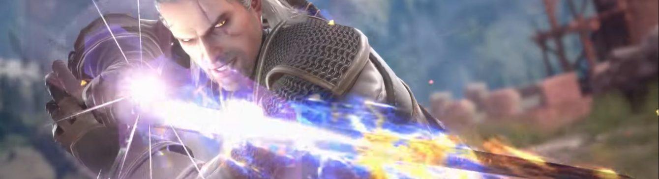 Geralt di Rivia è pronto a combattere nell'arena di Soul Calibur VI!