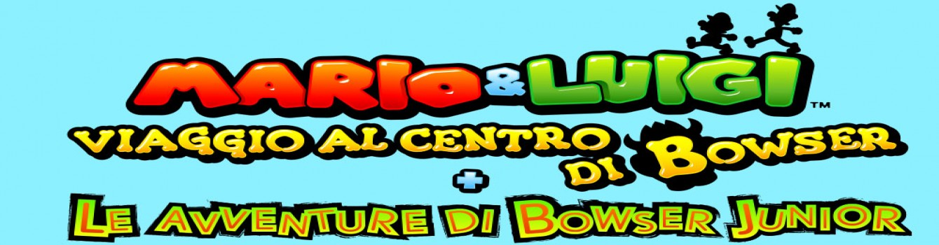Mario & Luigi: Viaggio al centro di Bowser + Le avventure di Bowser Junior annunciato per 3DS