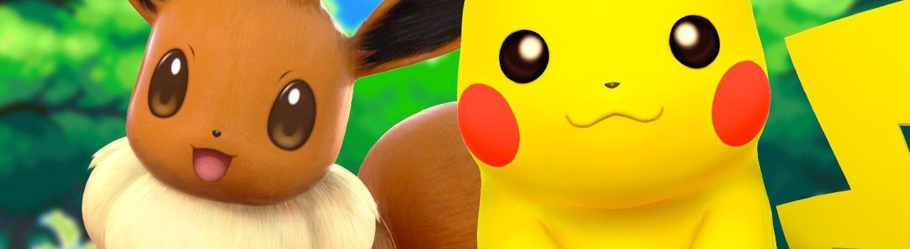 Annunciati Pokémon Let's Go, Pikachu! e Pokémon: Let's Go, Eevee!