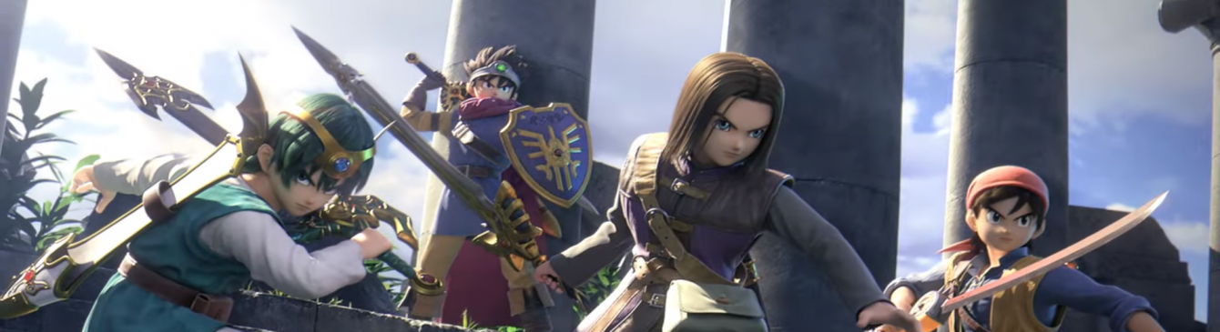 Gli eroi protagonisti di Dragon Quest si uniscono al roster di Super Smash Bros. Ultimate!