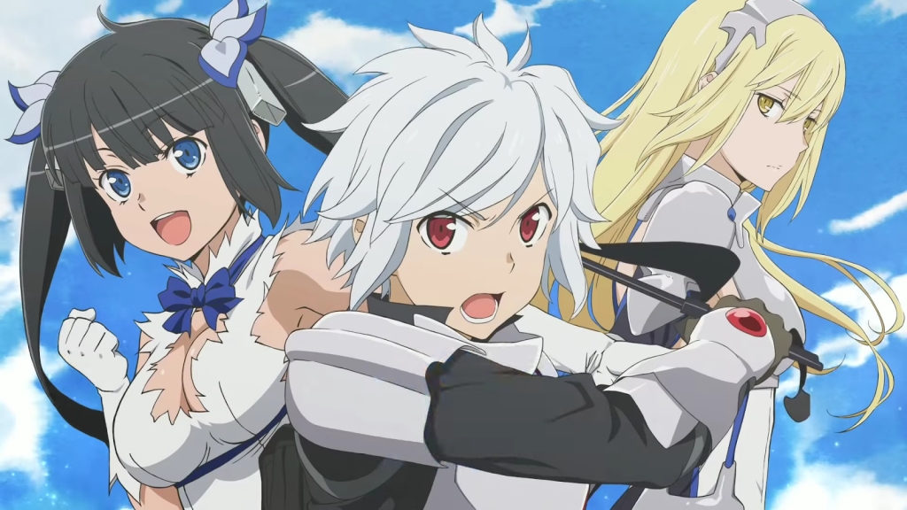 Header Is It Wrong To Try To Pick Up Girls In A Dungeon?
