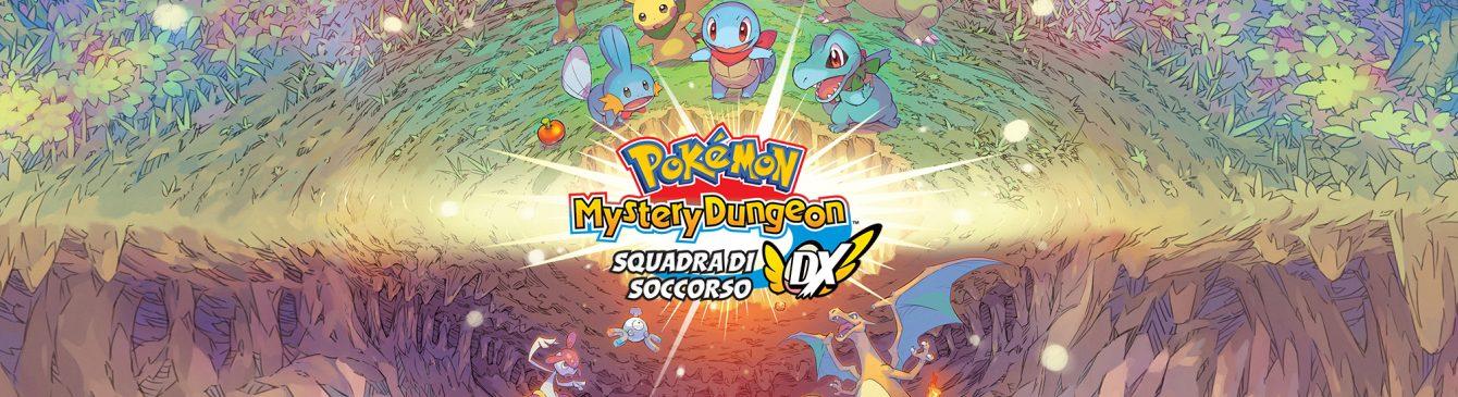 Annunciato Pokémon Mystery Dungeon Squadra di Soccorso DX