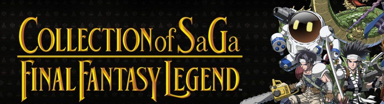 Collection of SaGa: Final Fantasy Legends sbarca su Nintendo Switch quest'inverno!