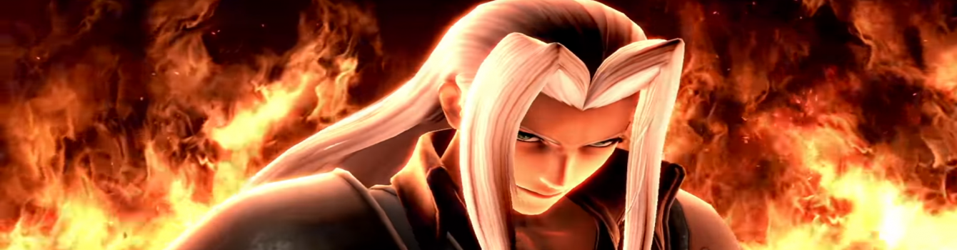 Annunciata la data d'uscita di Sephiroth in Super Smash Bros. Ultimate!