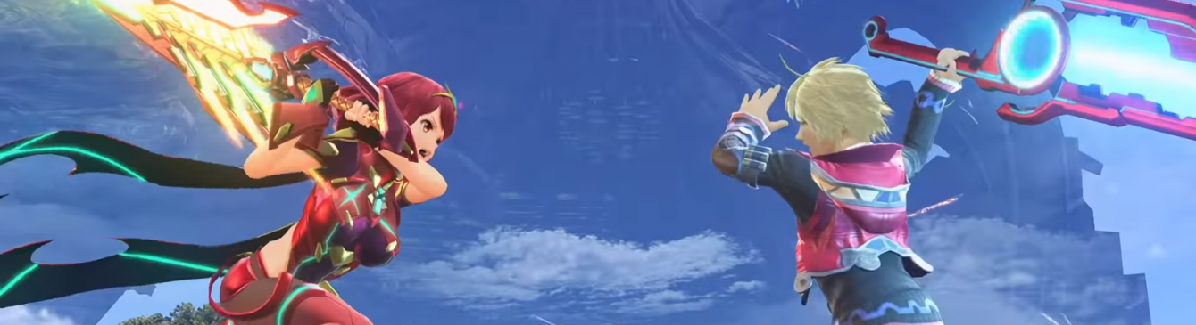 Pyra e Mythra si uniscono al roster di Super Smash Bros. Ultimate!