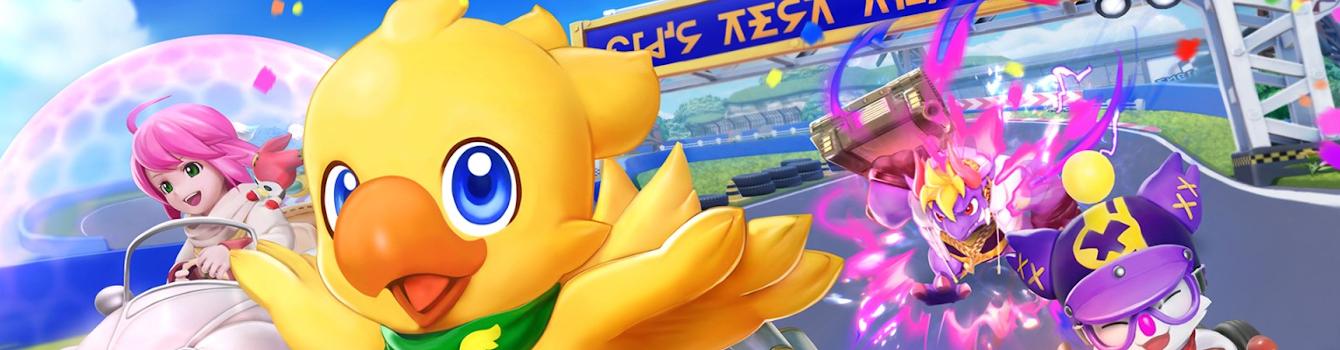 Chocobo GP drifta su Nintendo Switch nel 2022