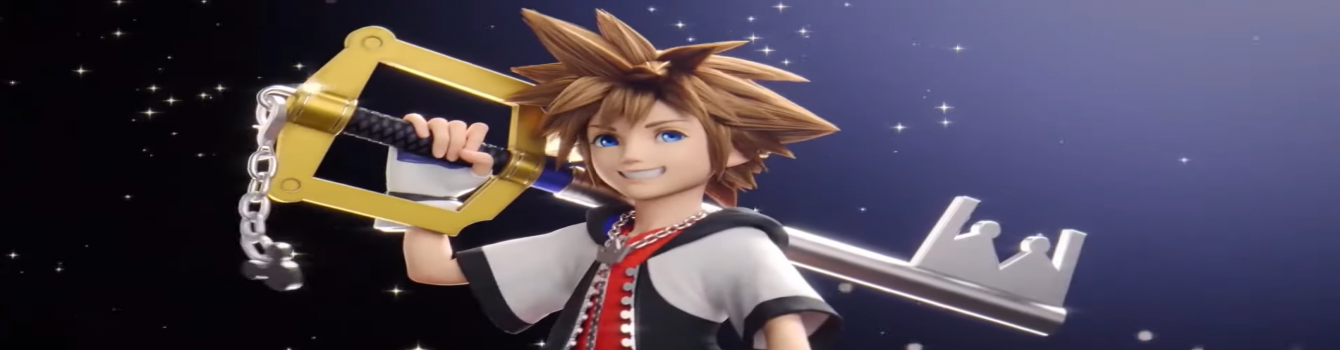 Sora si unisce a Super Smash Bros. Ultimate e porta la serie Kingdom Hearts con sé su Switch!